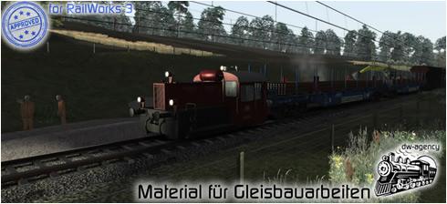 Material für Gleisbauarbeiten - Preview Picture