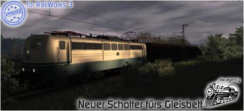 Neuer Schotter fürs Gleisbett - Preview Picture