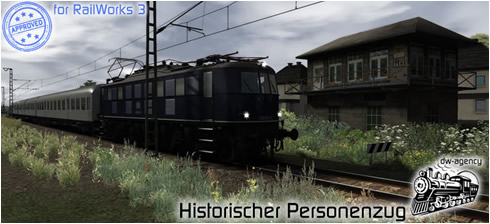 Historischer Personenzug - Preview Picture