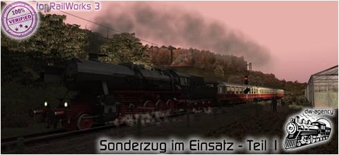Sonderzug im Einsatz - Teil 1 - Preview Picture