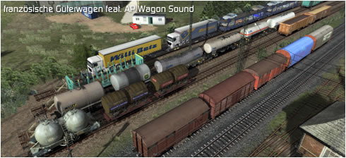 französische Güterwagen feat. AP Wagon Sound