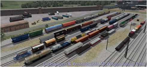 Güterwagen +m Repaints feat. AP Wagon Sound