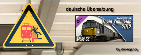 Class 33 Add-On - deutsche Übersetzung