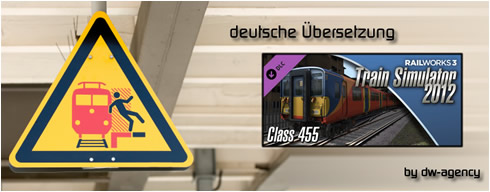 Class 455 Add-on - deutsche Übersetzung