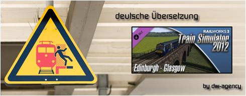 Edinburgh - Glasgow - deutsche Übersetzung