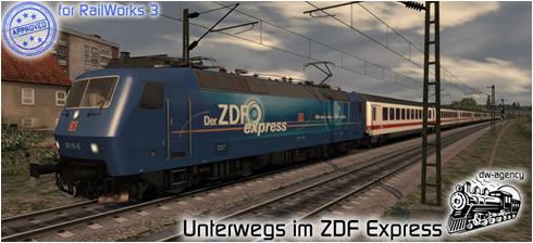 Unterwegs im ZDF Express