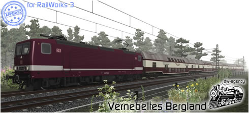 Vernebeltes Bergland - Preview Picture