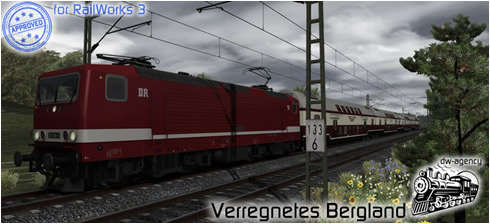 Verregnetes Bergland - Preview Picture