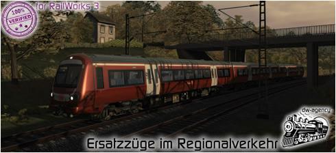 Ersatzzüge im Regionalverkehr - Preview Picture