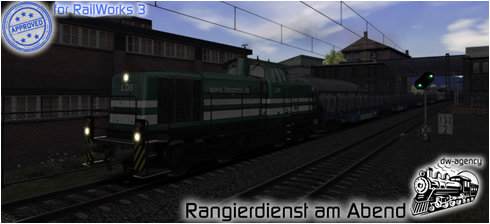 Rangierdienst am Abend - Preview Picture