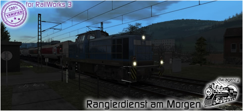 Rangierdienst am Morgen - Preview Picture