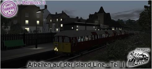 Arbeiten auf der Island Line - Teil 1
