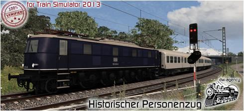 Historischer Personenzug - Vorschaubild