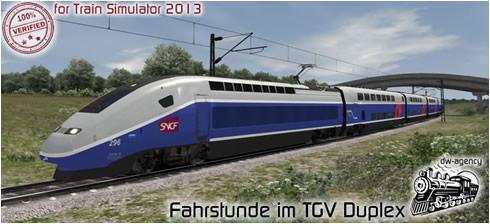 Fahrstunde im TGV Duplex - Vorschaubild