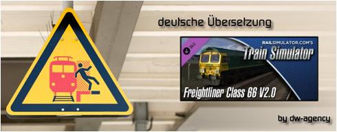 Freightliner Class 66 V2.0 - deutsche Übersetzung