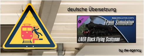 LNER Black Flying Scotsman Add-On - deutsche Übersetzung