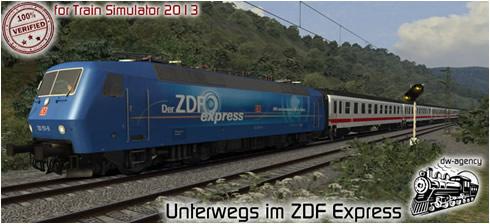 Unterwegs im ZDF Express - Vorschaubild