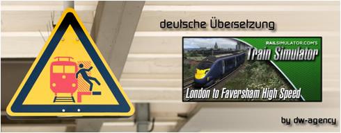 London Faversham High Speed - deutsche Übersetzung