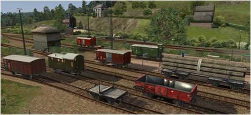 DRG Güterwagen - Vorschaubild