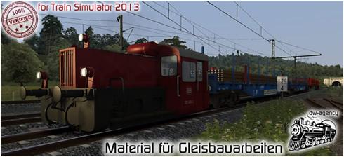 Material für Gleisbauarbeiten - Vorschaubild