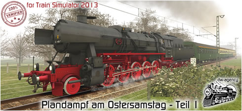 Plandampf am Ostersamstag - Teil 1 - Vorschaubild