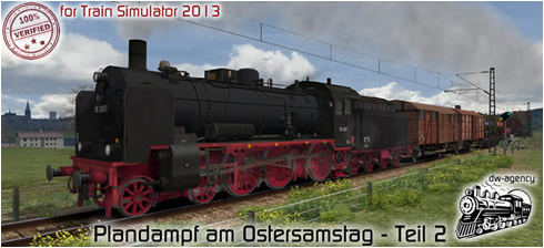 Plandampf am Ostersamstag - Teil 2 - Vorschaubild