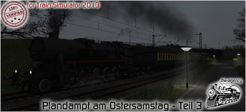 Plandampf am Ostersamstag - Teil 3 - Vorschaubild