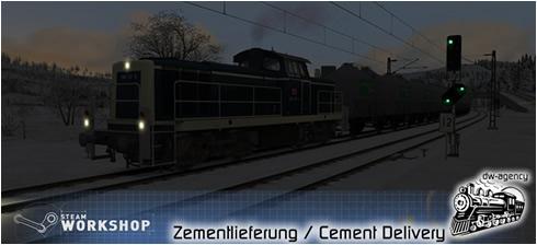 Zementlieferung - Vorschaubild