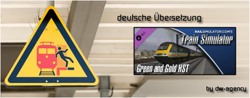 Green and Gold HST Add-On - deutsche Übersetzung