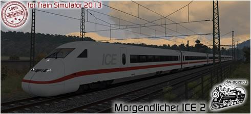 Morgendlicher ICE 2 - Vorschaubild