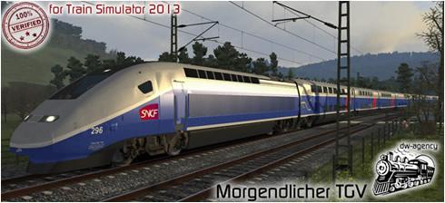 Morgendlicher TGV - Vorschaubild
