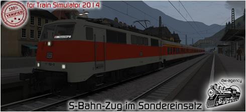 S-Bahn-Zug im Sondereinsatz - Vorschaubild