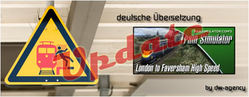 London Faversham High Speed - deutsche Übersetzung
