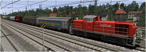 Just Trains IWB Cargowaggon feat TTB Sound