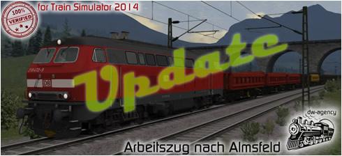 Arbeitszug nach Almsfeld - Vorschaubild