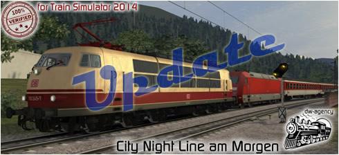 City Night Line am Morgen - Vorschaubild