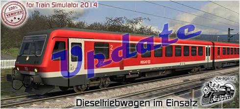 Dieseltriebwagen im Einsatz - Preview
