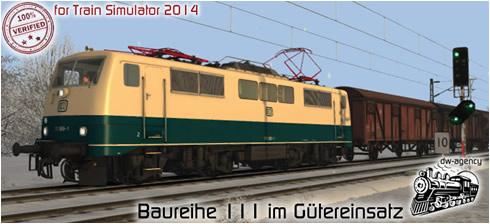 Baureihe 111 im Gütereinsatz - Vorschaubild