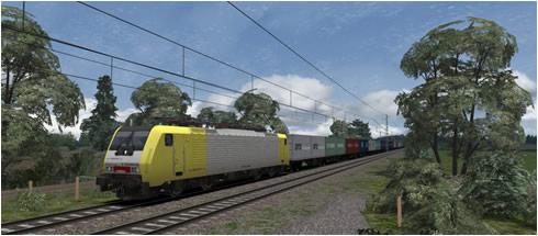BR 189 Loco Add-On Güterwagen - Vorschaubild
