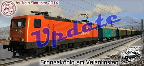 Schneekönig am Valentinstag - Vorschaubild