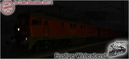 Frostiger Winterabend - Vorschaubild
