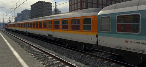 RW0381 Silberling in CityBahn Lackierung - Vorschaubild