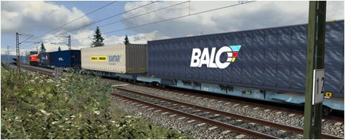 BR 266 Loco Add-On Güterwagen - Vorschaubild