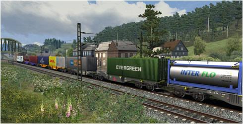 Waggonz Containerwagen - Vorschaubild