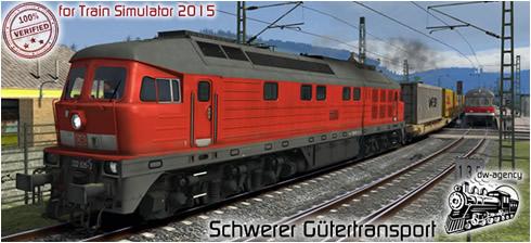 Schwerer Gütertransport - Vorschaubild