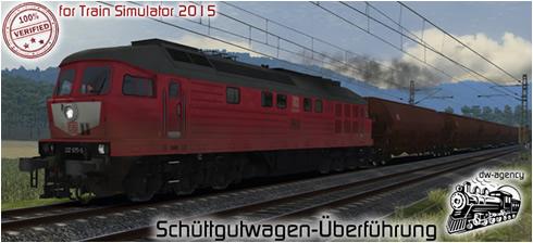 Schüttgutwagen-Überführung - Vorschaubild