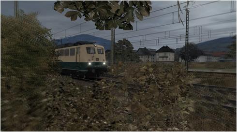 Schnappschuss - Verwackelte Einfahrt der Baureihe 140 338-5 | Bahnhof Plettenberg