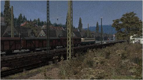 Schnappschuss - Ein gutes Stück, die Baureihe 140 im Stückgutverkehr | Meggen