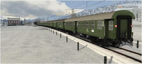 Polygonzug DB Umbauwagen - Vorschaubild