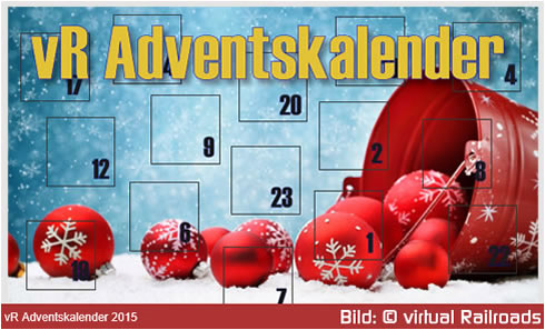 Adventskalender virtual Railroads - Vorschaubild